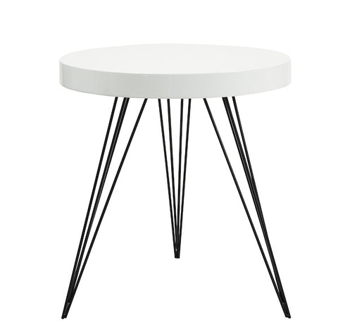 FUS0212 Round Table Gloss White Top