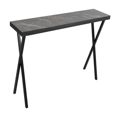 FUS0227 Console Table Dark Marble
