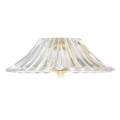 Dar Lighting ACC864 Accessory Clear Flared Glass Shade Only