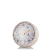 "AMC05013 5"" Crofter Mantel Clock Dusty Pink"