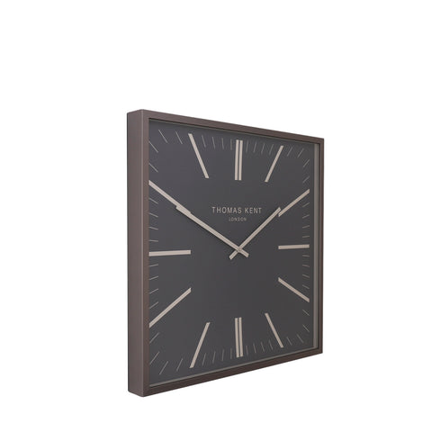 "AMC24041 24"" Garrick Wall Clock Graphite"