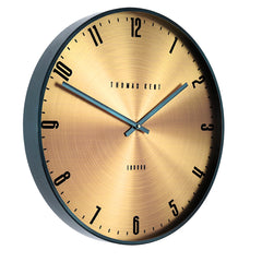 "AMC21037  21"" Jewel Wall Clock Citrine"