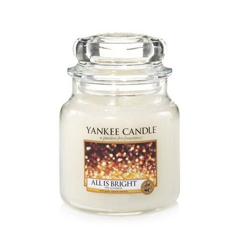 YANKEE CANDLE ALL IS BRIGHT MEDIUM JAR 1513534E