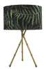 Dar Lighting BAM4275 Bamboo Table Lamp Antique Brass Base Only