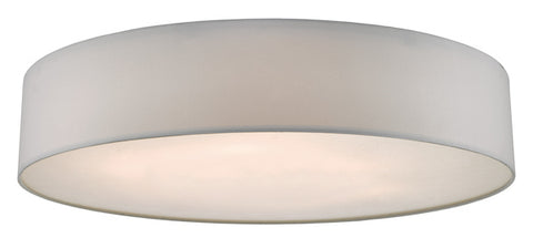 Dar Lighting CIE4815 Cierro 6lt Flush Ivory