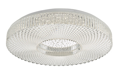 Dar Lighting CIM4808 Cimona Flush Acrylic Large LED