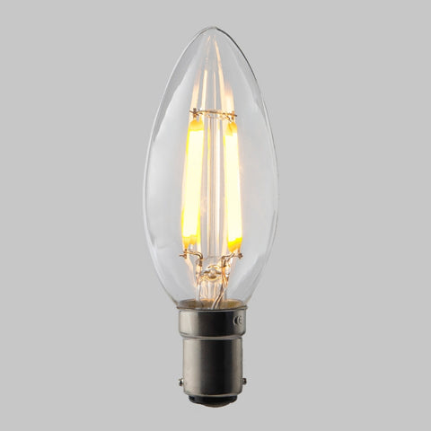 FUS0004 B15 Candle Filament Omni Lamp  4.5W (31W) 2700K 470lm Dimmable