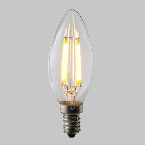FUS0009 E14 Candle Filament Omni Lamp  2.8W (25W) 2700K 250lm None Dimmable