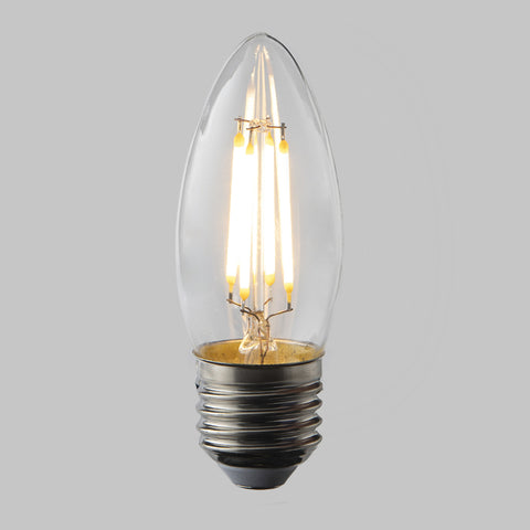 FUS0002 E27 Candle Filament Omni Lamp  4.5W (31W) 2700K 470lm Dimmable