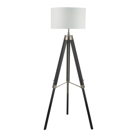 Dar Lighting EAS4922 Easel Tripod Floor Lamp Black Base Only