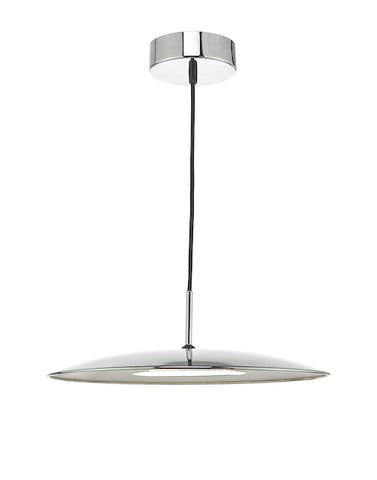 Dar Lighting ENO0150 Enoch Pendant Polished Chrome LED