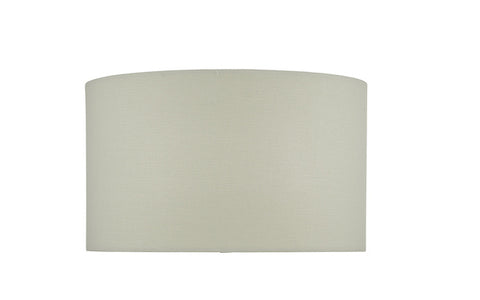 Dar Lighting ESA1502 White Linen Shade For ESA4210