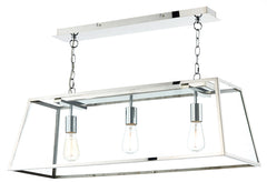 FLDA003-SS3 Aron 3 Light Pendant Stainless Steel
