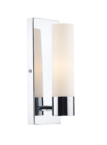 FLDA009 1 Light Wall Bracket Polished Chrome IP44