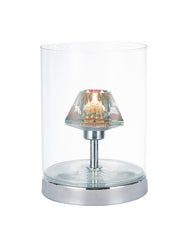 FLDA103-TL Colin Table Lamp Polished Chrome/ Clear Touch