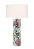FLDA130 Ceramic Table Lamp Tropical Print Base Only