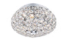 FLDA159-3F Eli 3 Light Flush Polished Chrome