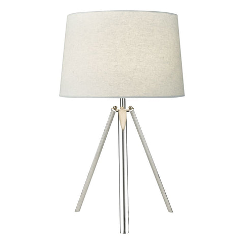 FLDA180 Table Lamp Pol Chr Cw Shd