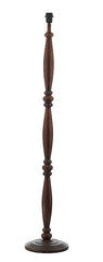 FLDA188 Floor Lamp Dark Wood Base Only