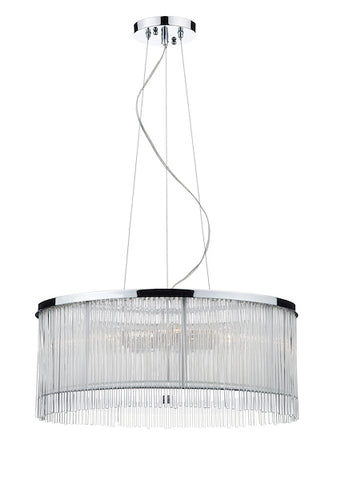 FLDA211 50CM 3 Light Pendant White