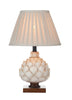 FLDA240-TLCS Harvey Table Lamp Cream Small complete with Shade
