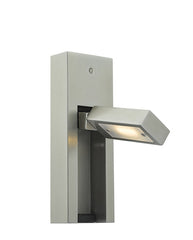 FLDA318 LED Wall Light Satin Chrome