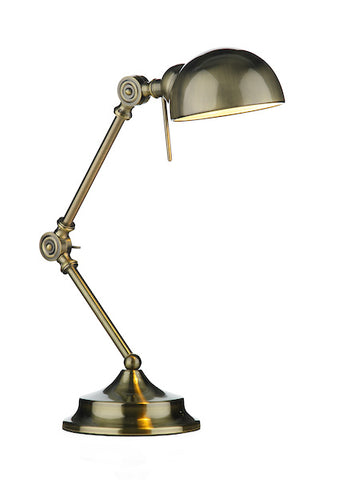 FLDA383-TLAB Levi Table Lamp Antique Brass