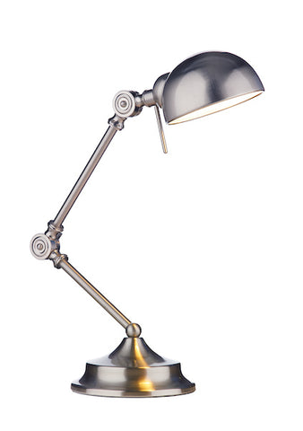 FLDA383-TLSC Levi Table Lamp Satin Chrome