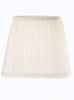 FLF0010 White Pleat Candle Shade