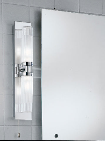 FLF0029-3 Bathroom2Lt Bracket IP44 Chrome