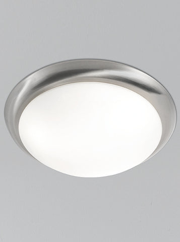 FLF0076 335mm Circular Flush Satin Nickel