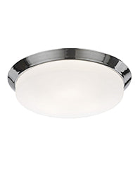 FLF0094 390mm IP44 Bathroom Flush Fitting Chrome