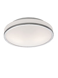 FLF0095 280mm IP44 Bathroom Flush Fitting Chrome