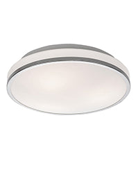 FLF0096 340mm IP44 Bathroom Flush Fitting Chrome