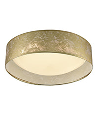 FLF0100 Acrylic Ceiling Fitting with Gold Shade Gold Colour
