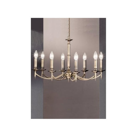 FLF0227-8B Lily 8Lt Fitting Bronze