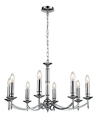 FLF0227-8C Lily 8Lt Fitting Chrome