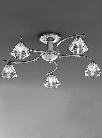 FLF0818-5C Willow 5Lt Fitting Chrome