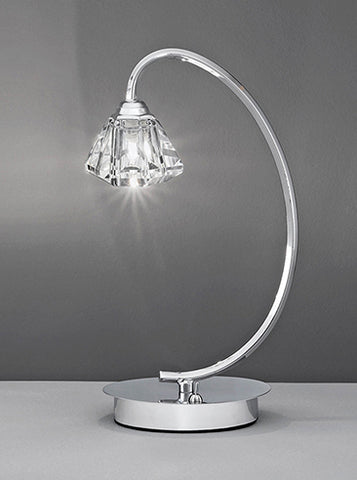 FLF0818-TLC Willow Table Lamp Chrome