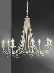 FLF0838-8CR Traditional Ceiling Chandeliers, Ceiling Statement Pieces