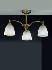 FLF1140-3B Semi Flush Ceiling - Traditional