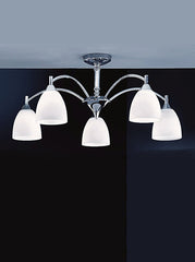 FLF1140-5C Semi Flush Ceiling - Traditional