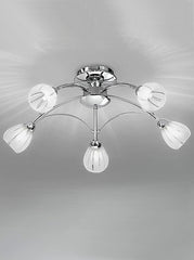 FLF1144-5C Semi Flush Ceiling - Traditional