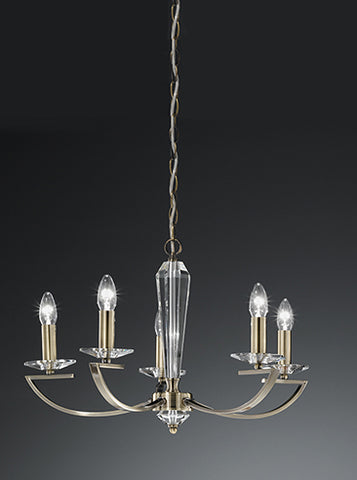 FLF1318-5B Esme 5 Light Fitting Bronze