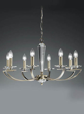 FLF1318-8B Esme 8 Light Fitting Bronze