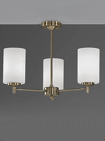 FLF1472-3B Phoebe 3 Light Fitting (Up) Bronze