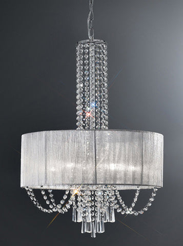 FLF1550-6CD Maisie 6 Light Fitting Chrome