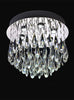 FLF1567-6D Eliza 6 Light Flush Chrome
