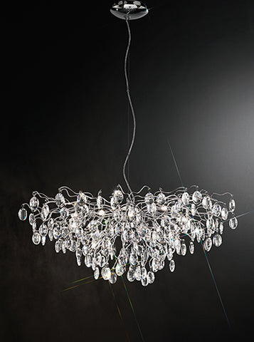 FLF1572-15C Ellie 15 Lt Pendant Chrome