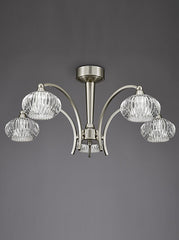 FLF1592-5S Semi Flush Ceiling - Traditional